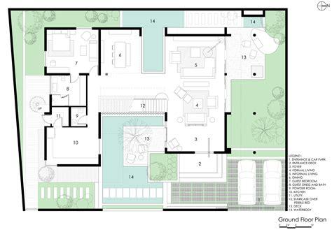 gallery  courtyard house abin design studio