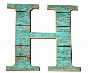wall decor letter h rustic home office chic decor With letter h decor