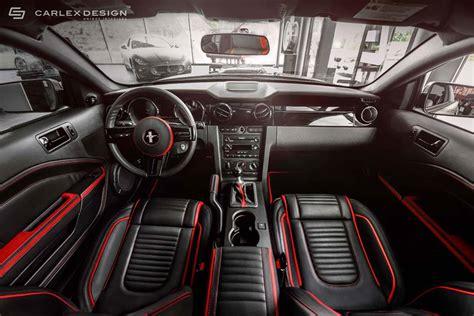 carlex design ford mustang interior revealed