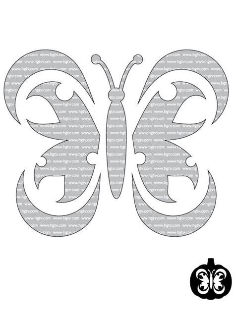 butterfly pumpkin stencil advanced halloween pumpkin carving templates hgtv