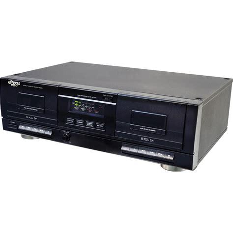 Pyle Pro Dual Cassette Deck With Mp3 Converter Pt659du B&h