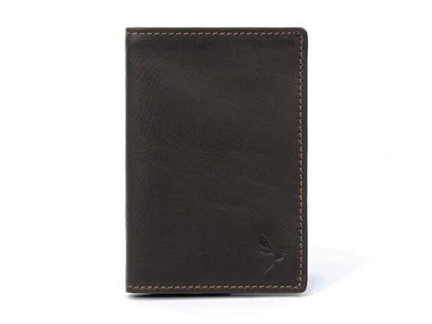 porte feuille en cuir petit portefeuille cuir marron peu encombrant 890