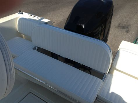 Custom Boat Seating Bench by Boat Seating Ideas The Hull Boating And Fishing