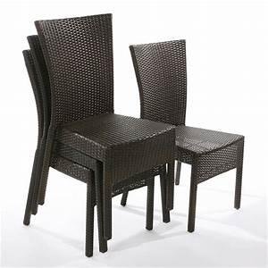 Fauteuil Jardin Pas Cher : fauteuil de jardin pas cher en r sine table de jardin aluminium pliante trendsetter ~ Teatrodelosmanantiales.com Idées de Décoration