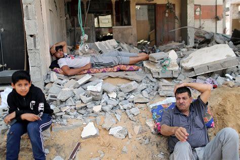 Izraēlā un Gazas joslā atvieglojums pēc pamiera iestāšanās ...