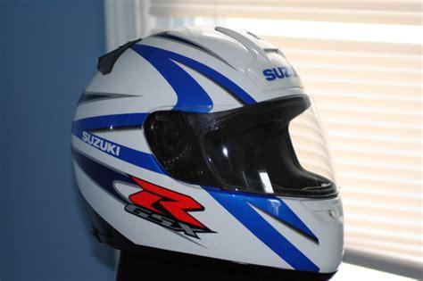 Suzuki Gsxr Helmet by Fs Shoei Suzuki Blue White Helmet Sportbikes Net