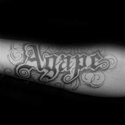 agape tattoo designs  men highest form  love ink