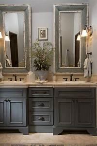 Meuble Salle De Bain Bois Gris : id e d coration salle de bain meuble vasque en bois ~ Edinachiropracticcenter.com Idées de Décoration
