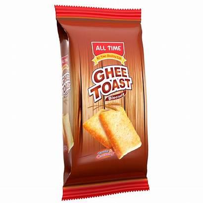 Toast Ghee Pran Biscuit