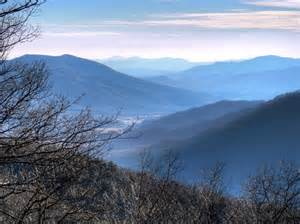 Blue Ridge Mountains Winter