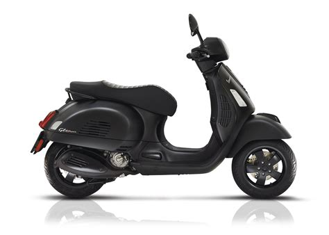 Vespa Gts Image by Vespa Gts 300 Notte All Technical Data Of The
