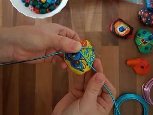 Mit Draht Basteln : bunte fotohalter aus draht und steinen selber basteln mit kindern ~ Watch28wear.com Haus und Dekorationen