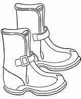 Boots Coloring Pages Winter Snow Spur Drawing Boot Printable Ugg Rain Cowboy Raincoat Cartoon Uggs Cool Coach Handbags Getcolorings Cheap sketch template