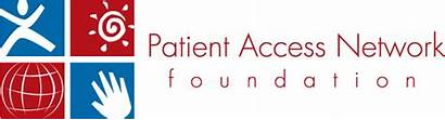 Foundation Patient Access Network Pan Celebrating Years