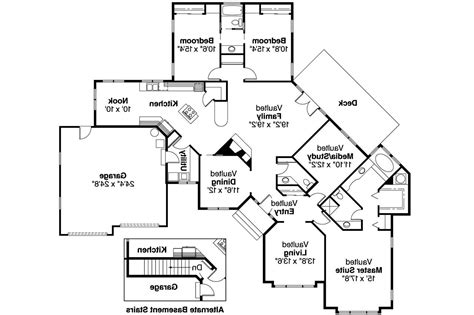 ranch floorplans ranch house plans camrose 10 007 associated designs