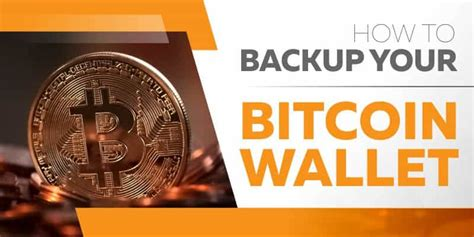 bitcoin cloud wallet how to backup your bitcoin wallet