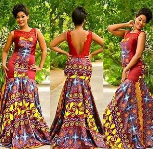 25 beautiful african print maxi dresses and gowns for a With african print wedding dresses
