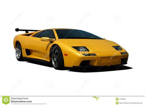 Yellow Lamborghini Stock Photo. Image Of Tire, European