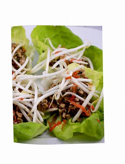 Lettuce Recipes Raw Clean Wraps Thai Tasty