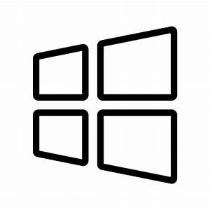 windows outline icon | iconshow