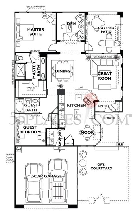 monaco floorplan  sq ft shea homes  jubilee placescom