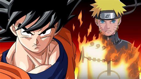 Team Dragon Ball Z Vs Team Naruto
