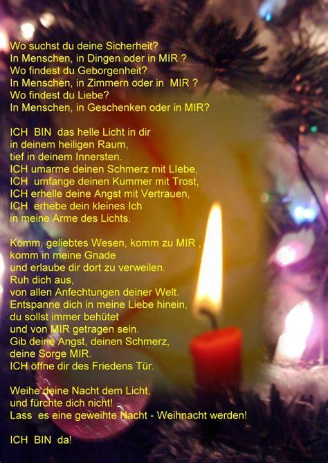 weihnachtliche impulse licht gestoeber