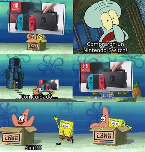 Nintendo Labo Memes - dopl3r com memes cd switch compraron un nintendo switch labo switch con cuidado nintendo