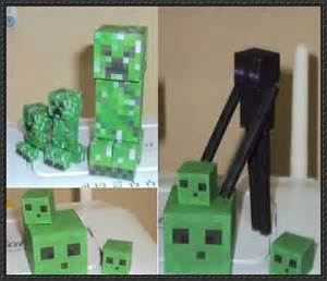 Minecraft Papercraft Paper