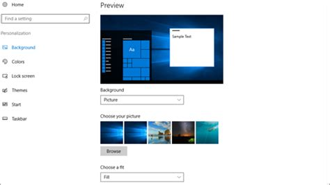 How Do I Change My Background How To Change Desktop Background In Windows 10