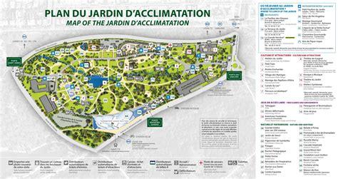 Plan Jardin d acclimatation Carte Jardin d acclimatation (France)