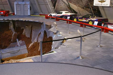 Corvette Museum Sinkhole Images by National Corvette Museum Sinkhole Photo Gallery Autoblog