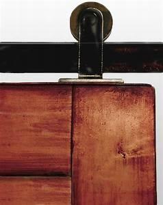 Top Mounted Barn Door Hardware - Modern - Barn Door