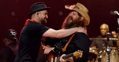 Justin Timberlake, Chris Stapleton Reunite