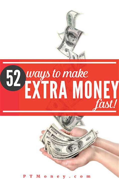 easy ways   extra money fast   pt money