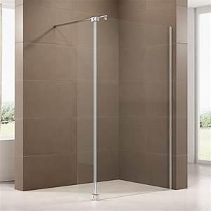 Duschwand Glas Walk In : duschabtrennung walk in dusche mit spritzschutz nt109 8mm esg glas badewelt duschkabine walk in ~ A.2002-acura-tl-radio.info Haus und Dekorationen