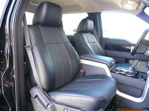 ford truck leather seat covers