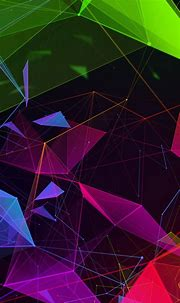 Wallpaper Razer Phone 2, abstract, colorful, HD, OS #20754