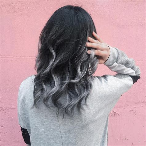 Silver Ombre Grey Ombre Hair Is The New Blonde Color The