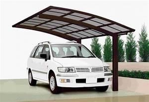 Design Carport Aluminium : abri voiture aluminium 2 pieds 5 x 3 m avec toit en polycarbonate ~ Sanjose-hotels-ca.com Haus und Dekorationen