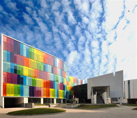 color glass vanceva glass facades curtain walls facade systems