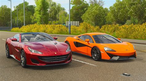 Forza horizon 4 1600 horsepower corvette fh4 formula drift corvette. Forza Horizon 4 Drag race: Ferrari Portofino vs McLaren 570S - YouTube
