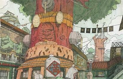 Naruto Konoha Masashi Street Kishimoto Tree Wire