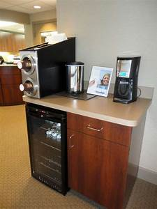 Coffee station upgraded office ideas pinterest for Office coffee station