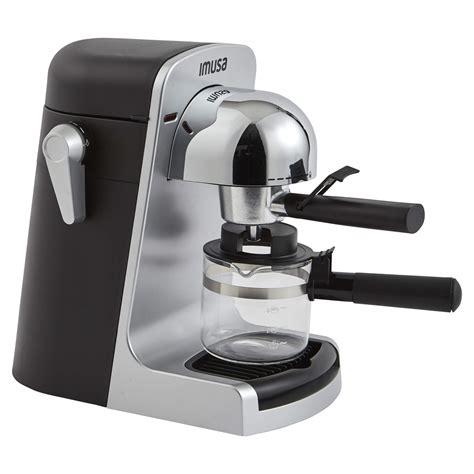 Shop imusa at the amazon coffee, tea, & espresso store. IMUSA USA GAU-18215 4 Cup Bistro Electric Espresso/Cappuccino Maker with Carafe, Silver - Top 10 ...
