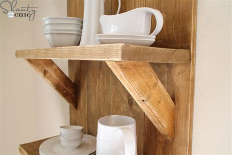how to make a shelf check out my easy diy shelf made from reclaimed wood