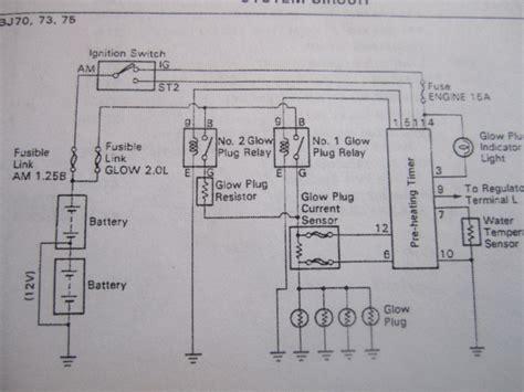 Need Help Dentifying What Glow Plug Circuit Have