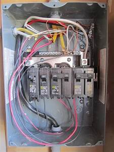100a Sub Panel Breaker Box Wiring Diagram