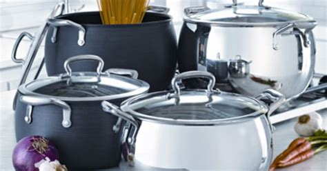 biltmore professional chef series  qt belly shaped hard anodized stock pot cookware