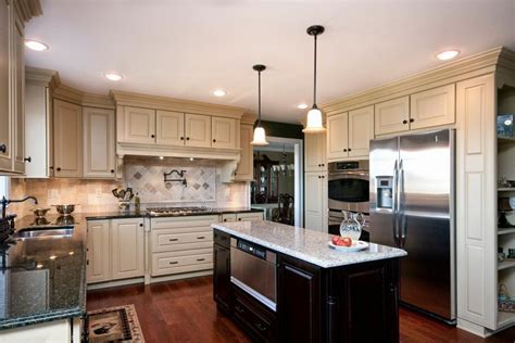 kitchen cabinets with different color island 2014 trend a study in contrast wolf home products